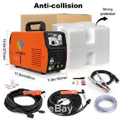HITBOX 3in1 Welding Machine 50A Air Plasma Cutter 200A TIG/Stick/MMA/ARC Welder