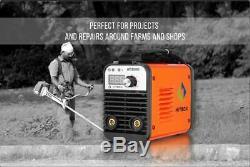 HITBOX ARC Welder Inverter ARC Stick MMA Welding Machine 110V 220V 140A AT2000