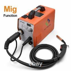 HITBOX MIG Welder TIG ARC MMA Welder Inverter MMA 240V / 160A Portable Machine