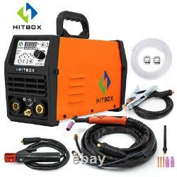 HITBOX Pulse TIG Welder 200A/220V 2-IN1 TIG MMA ARC Welding with Digital TIG Torch