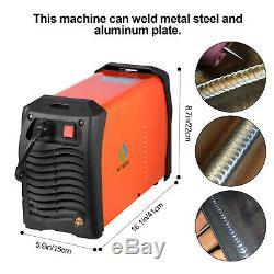 HITBOX TIG 200P AC DC TIG ARC Welders TIG MMA Aluminum Welding Machine Inverter