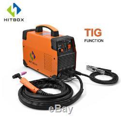HITBOX TIG Welder 110V 200V Double Volt MMA ARC LIFT TIG Welding With TIG Torch