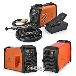 HITBOX TIG Welder TIG ARC AC DC TIG MMA Welding Machine Inverter With Foot Pedal