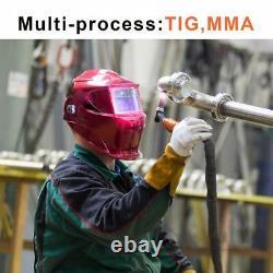 HITBOX TIG200A 220V TIG Welder MMA ARC LIFT TIG Inverter Welding Machine