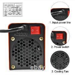 HITBOX WIG/TIG-Schweißgeräte MMA ARC LIFT Welder 220V 120A Mini Welding machine