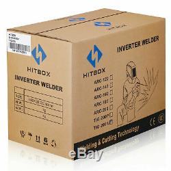HITTBOX TIG200 Welder 220V inverter TIG MMA ARC Welder Stick Welding Machine set