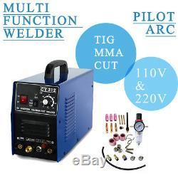 HQ CT312 Pilot ARC 3IN1 Plasma Cutter Welder Welding 230VCNC Compatible TIG/MMA