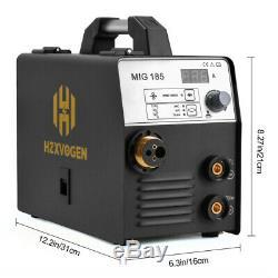 HZXVOGEN 3IN 1 MIG Welder 220V 180A MMA Stick Arc Lift Tig Mig Welding Machine