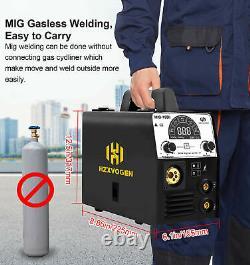 HZXVOGEN 3in1 MIG Welder 220V 160A DC IGBT MMA ARC Lift TIG MIG Welding Machine
