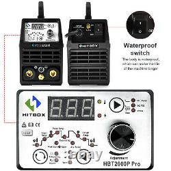 Hitbox Welding Machine DC Hf Pulse Inverter Arc Mma Tig Welder 200a 220v