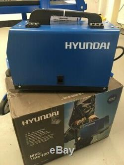 Hyundai HYMIG-180 180Amp MIG / MMA (ARC) Inverter Welder 230V Single Phase