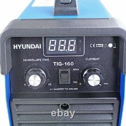 Hyundai HYTIG-160 160Amp TIG/MMA/ARC Inverter Welder, 230V GRADED
