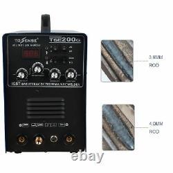 IGBT 200A Schweißer TSE200G WIG/MMA/ARC AC/DC Aluminium Inverter Schweißgerät