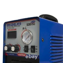 Inverter Arc DC 3-IN-1 MMA/TIG/CUT Welding Machine 520TSC with Free Accessories