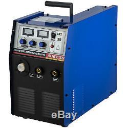 Inverter MIG-250 250Amp MMA Brazing ARC MIG Gas / Gasless 3-in-1 DC Welder