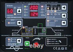 Inverter Schweißer JET TIG II AC/DC 200A WIG/MMA/PULSE/HF/Lift-Arc/VRD/SPOT IGBT