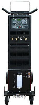 Inverter Schweißer JET TIG II AC/DC 500A WIG/MMA/HF/Lift-arc/Pulse/VRD Kühler