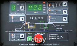 Inverter Schweißer JET TIGII AC/DC 400A WIG/MMA/HF/Lift-arc/Pulse/VRD 400V pedal