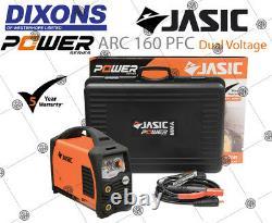 Jasic PRO ARC 160PFC 160amp PFC MMA Stick Welder DV Dual Voltage 110v 230v 5Year