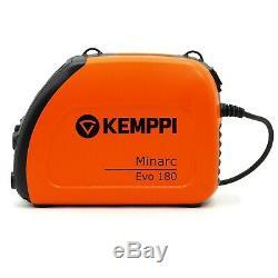 Kemppi Minarc EVO 180 A Schweißgerät Wechselrichter ARC Elektroden MMA
