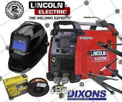 Lincoln Electric Speedtec 200C Flux Cored MIG Lift TIG ARC MMA Stick Welder