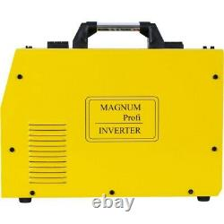 MAGNUM MIG 224 LCD DUAL PULSE Synergic Welder Inverter MAG MMA ARC TIG Lift 2T4T