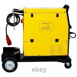 MAGNUM MIG 311ALU SYNERGIA MAGNUM inverter welder MAG TIG LIFT MMA ARC 400V 50Hz