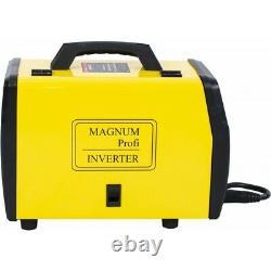 MAGNUM MIG/MAG 208 ALU SYNERGY MMA ARC TIG Lift Welder Inverter Welding230V 50Hz