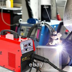 MIG 140A IGBT Inverter DC Welder 2-In-1 MMA Gas Gasless Wire Arc Welding Machine