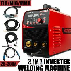 MIG 235 DC Inverter MIG TIG MMA Welder 220V ARC TIG Welding Machine Accessories
