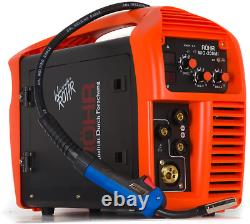 MIG/ARC Welder Inverter Gas/Gasless MMA 3-in-1 IGBT 240V 200 amp DC Röhr