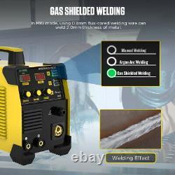 MIG/MAG/TIG/MMA Inverter Welder 250A IBGT Stick Arc Welding Machine 220V