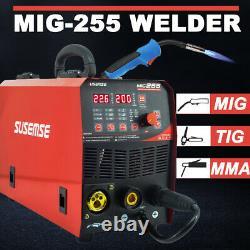 MIG/TIG/MMA 3 in1 MIG Welder 220V Gasless Inverter Lift TIG ARC Welding Machine