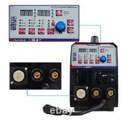 MIG Welder Inverter Gas / Gasless MMA 3-in-1 IGBT 240V 200 amp DC ARC/MIG/TIG UK