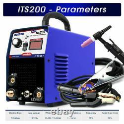 MMA 200AMP Welder Welding Machine Automatic Solder Inverter Arc Tig Portable