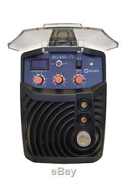 Mig 170 Amp Simadre 110/220v Igbt Mig/mma/arc Welder Dual Voltage Sale