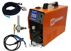 Mig Tig Mma Arc Welder 3in1 Igbt Simadre Mig200 200a Welding Machine Argon Reg