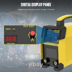 Mini IGBT ARC Welding Machine MMA Electric Welder 110V 220V 20-160A DC Inverter