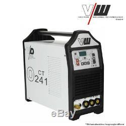 Multi TIG welding machine 200a pulse welder inverter ARC MMA + plasma cutter 40