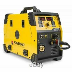 PM-IMG-220L-PRO Inverter Welder MIG MAG 220amp FCAW ARC MMA FLUX WIG