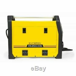 PM-IMGS-230L Inverter Welder MIG MAG 230amp FCAW ARC MMA FLUX IGBT SYNERGY