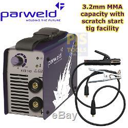 Parweld XTS143 220-240v 140A MMA arc tig inverter stick welder 3 year warranty