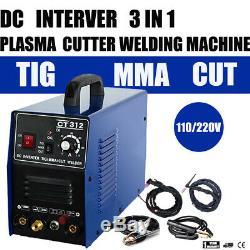 Pilot ARC Plasma Cutter / MMA / TIG Welder Tosense CT312P 3 in 1 machine