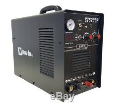 Plasma Cutter 50a Pilot Arc Simadre 3in1 200a Tig Arc Mma Welder 520dp Powerful