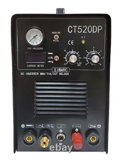 Plasma Cutter 50a Pilot Arc Simadre 3in1 200a Tig Arc Mma Welder Ft Pedal 520dp