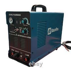 Plasma Cutter 50a Simadre 110/220v 5200d 200a Tig Arc Mma Welder 60a Torch 3in1