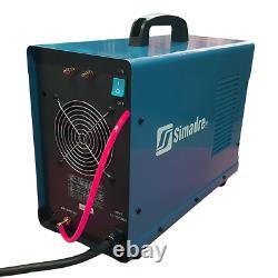 Plasma Cutter 50a Simadre 110/220v 5200d 200a Tig Arc Mma Welder Ft Pedal Argon