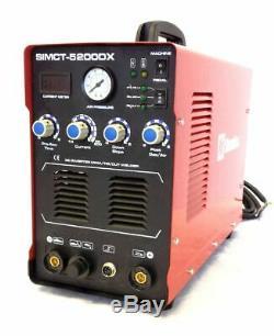 Plasma Cutter 50a Simadre 3in1 110/220v 5200dx 200a Tig Arc Mma Welder 60a Torch