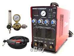 Plasma Cutter 50a Simadre 3in1 110/220v 5200dx 200a Tig Arc Mma Welder Argon Reg