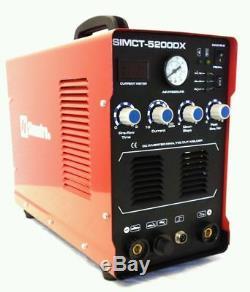 Plasma Cutter Simadre 3-in-1 5200DX 50 Amp / 200 Amp Tig Arc Mma Welder 110/220V